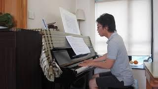Shostakovich: I Prelude - Five Pieces for 2 Violins and Piano - Piano Part [Slow Tempo]