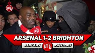 Arsenal 1-2 Brighton | It Doesn't Matter Who Manages! These Players Aren't Good Enough! (Kenny Ken)
