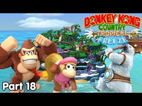 Slim Plays DKC: Tropical Freeze - #18. Bears Love Popsicles!