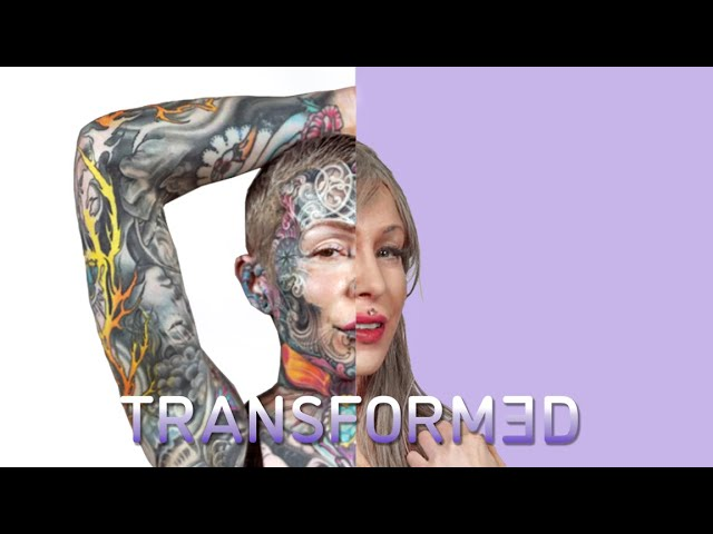 Tattoo Model Goes Bare Skinned For The Day | TRANSFORMED