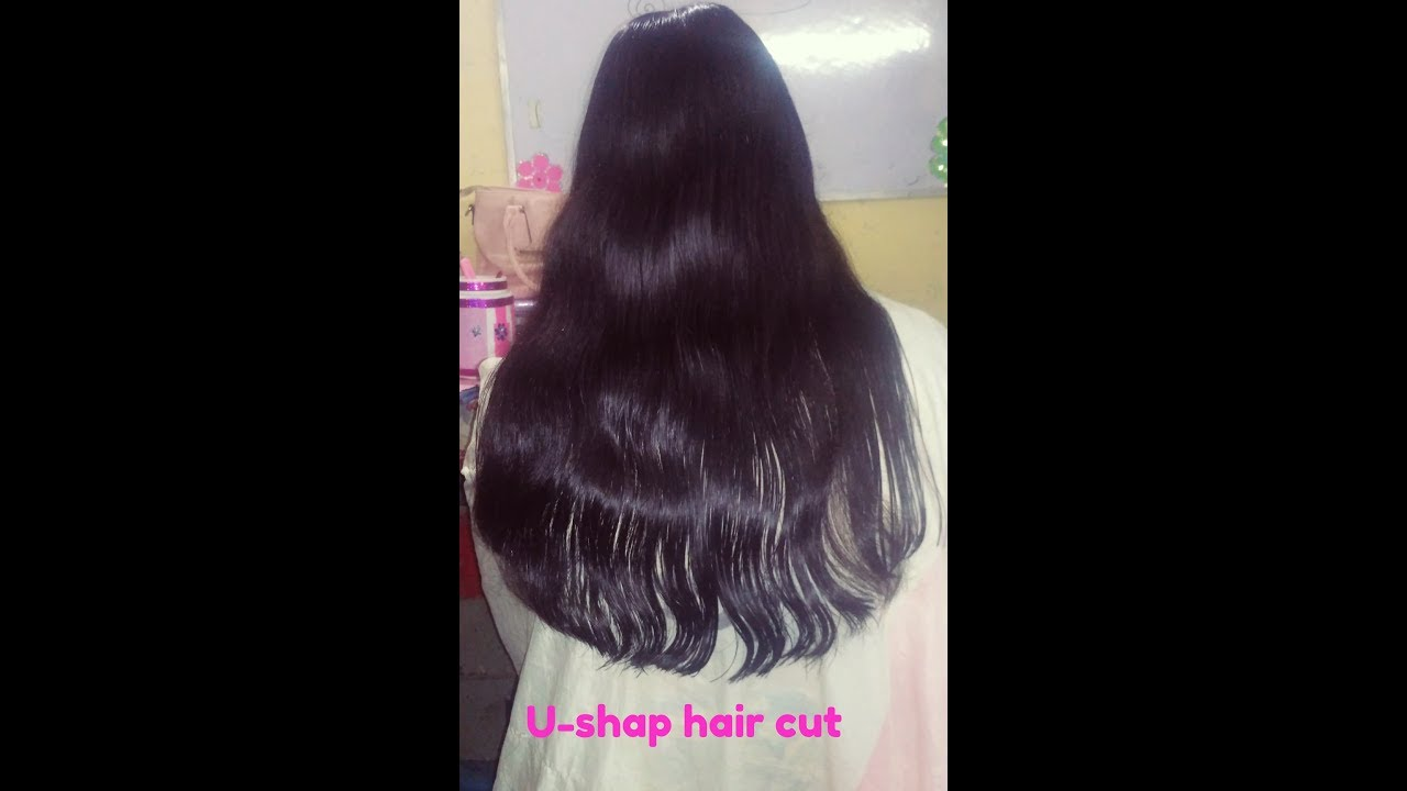 U Shape Hair Cut Youtube