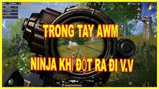 [PUBG Mobile] Trong Tay AWM Ninja Khỉ đầu hàng - Top 1 Quá Đơn Giản