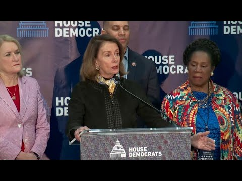 Pelosi and Democrats speak after policy retreat