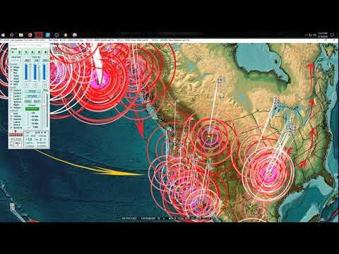 4/19/2018 -- Earthquakes strike Central USA, Europe, Middle East + Alaska as expected