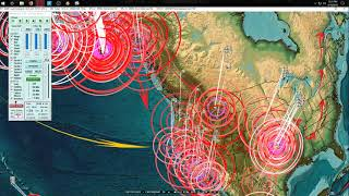 4/19/2018 -- Earthquakes strike Central USA, Europe, Middle East + Alaska as expected