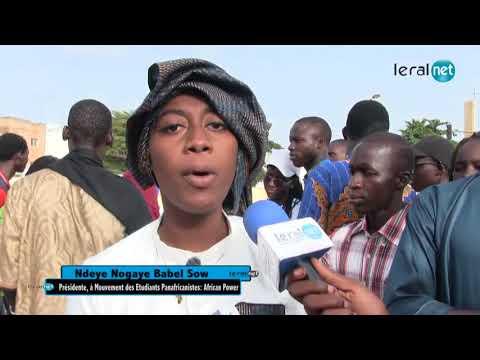 Ndeye Nogaye Babel Sow, Présidente, Mouvement des Etudiants Panafricanistes: African Power