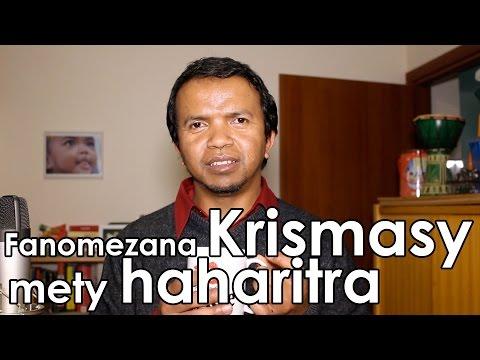 Fanomezana Krismasy mety haharitra - Serasera 3 min 18/12/2016 - Cadeaux de Noel