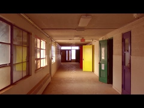Abandoned School in New Mexico