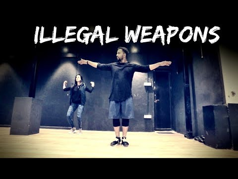 ILLEGAL WEAPONS | Jasmine Sandlas ft Sandhu | Tejas Dhoke Choreography | Dance Fit Live