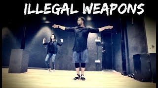 ILLEGAL WEAPONS Jasmine Sandlas ft Garry Sandhu Tejas Dhoke Choreography Dance Fit Live