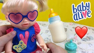 Our Baby Alive So Many Styles Baby Doll's First Feeding