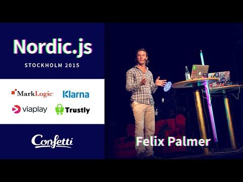 Nordic.js 2015 • Felix Palmer - Through the looking glass - programming on the GPU using WebGL