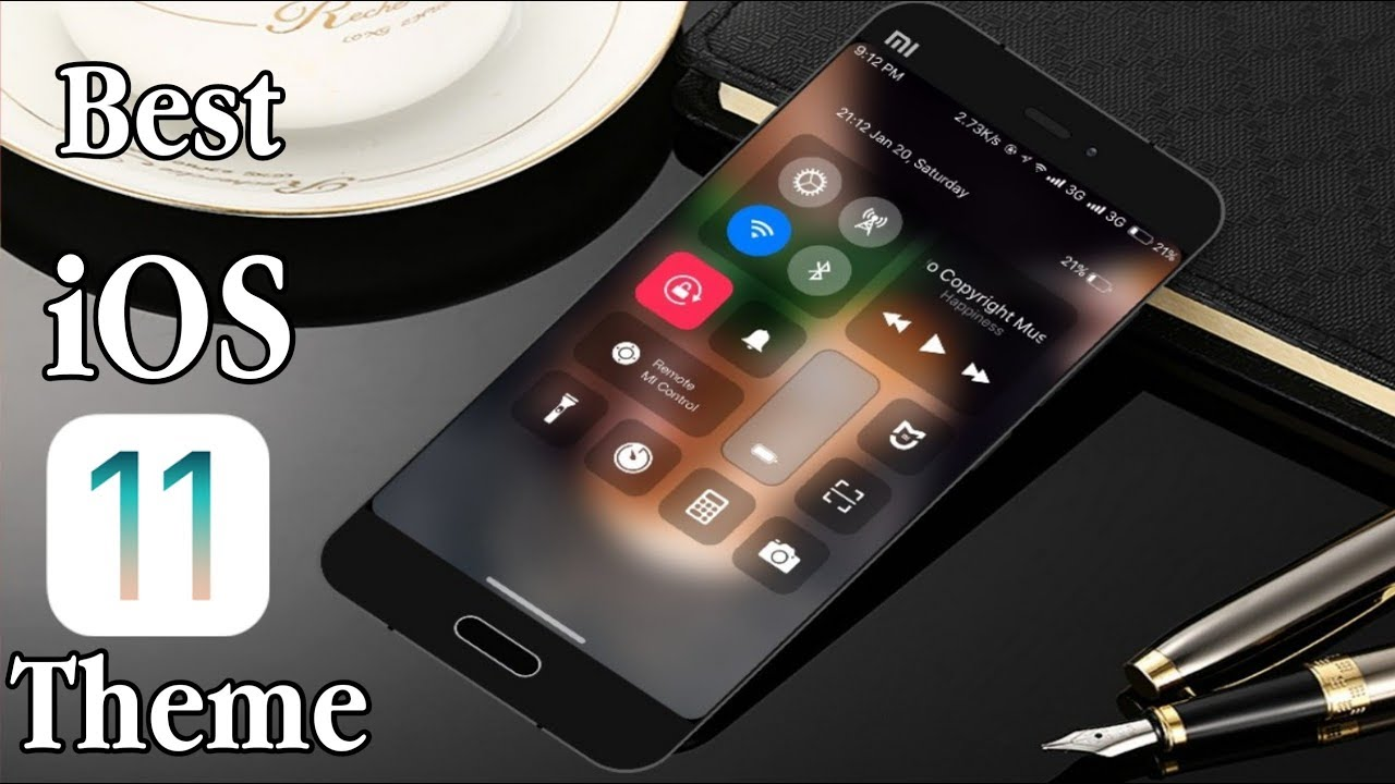 Best iphone theme for miui