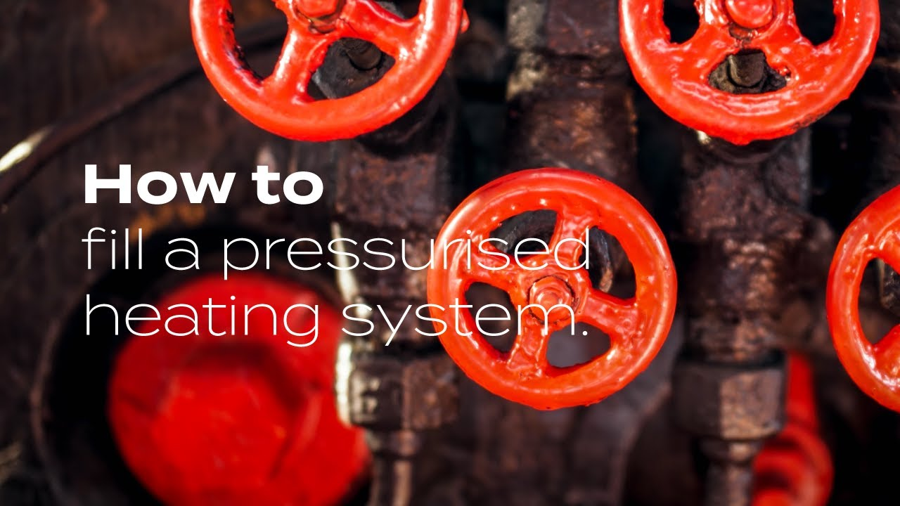 How to Fill a Pressurised Heating System - YouTube