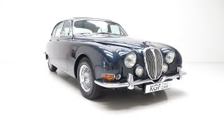 A Sublime Jaguar S-Type 3.8S with Just Three Owners and in Show Condition - SOLD!