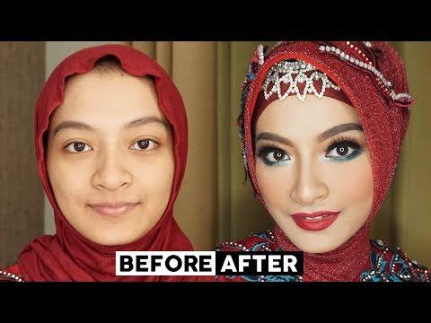 tutorial-makeup-pesta-acara-malam- -one-brand-tutorial-la-tulipe