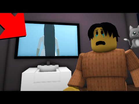I Just Seen The Scariest Ghost In Roblox BrookHaven RP..