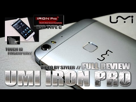UMI IRON PRO (Full Review) Fingerprint ID, USB Type-C, Skyline LED - Video by s7yler