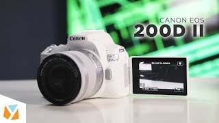 canon EOS 200D II Unboxing, First Look, 4K Test