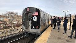 NYC Subway Full HD 60fps: Aboard The First R179 (A) Train To Far Rockaway!