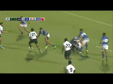 Serious skills lead to epic Fiji try - World Rugby Pacific Challenge