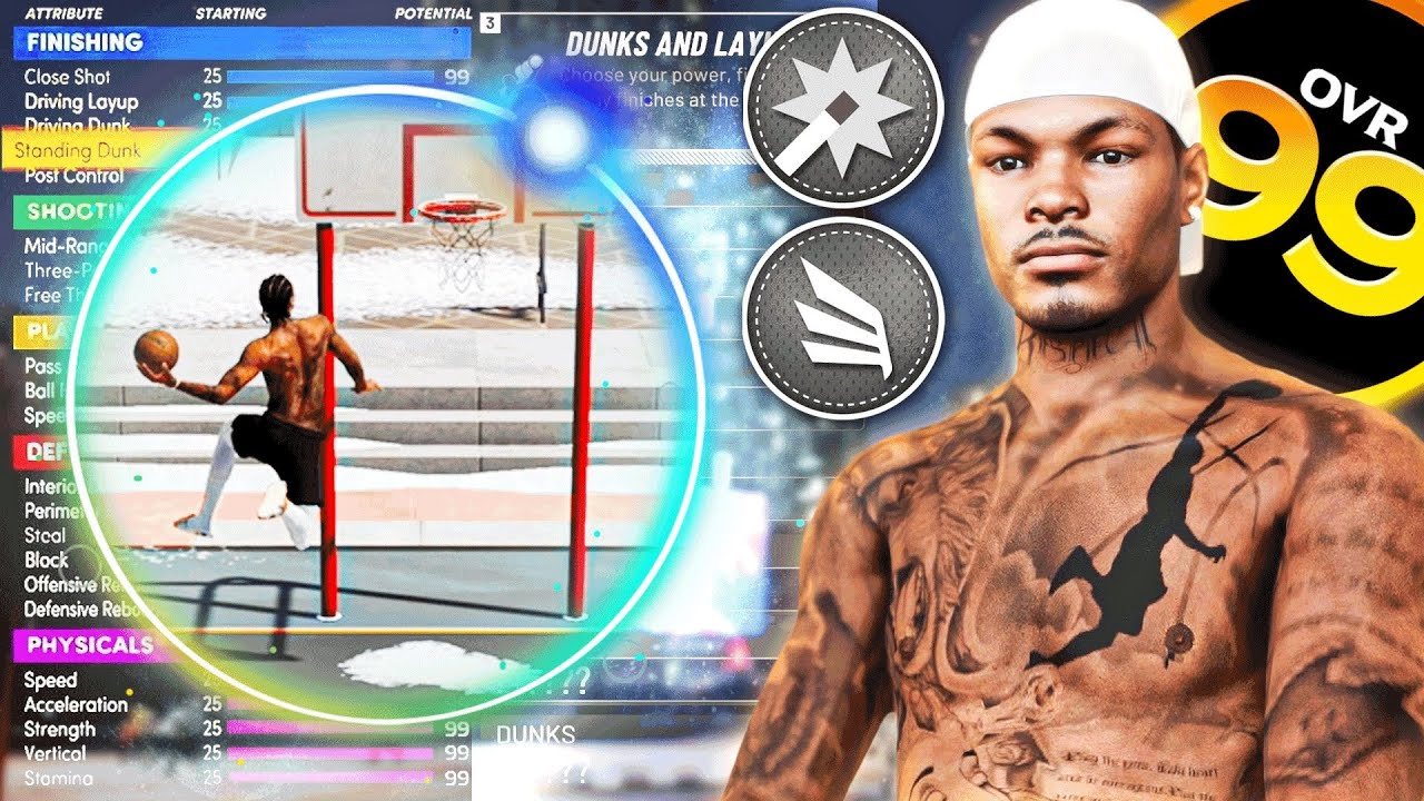 Download CINCO OFFICIAL NBA 2K21 99 OVERALL IRL BUILD   2-WAY SLASHING SHOT CREATOR ANIMATIONS & BADGES