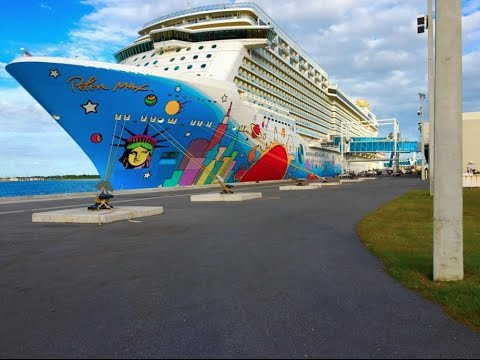 Norwegian Breakaway Cruise VLOG November 6, 2016--- Bahamas