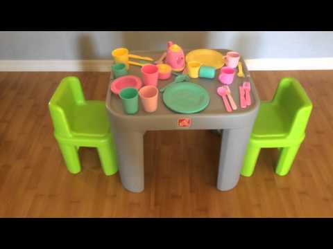 Step2 Mighty My Size Table Chairs Set Review