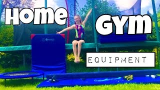 My Home Gym // All my Gymnastics equipment