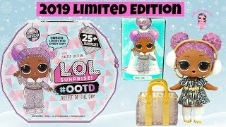 LOL Surprise OOTD Winter Disco Unboxing Outfit of the Day Advent Calendar Limited Edition 2019