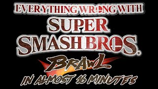 Everything Wrong With Super Smash Bros. Brawl in Almost 16 Minutes (feat. Stargmr)