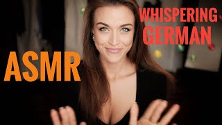 ASMR Gina Carla 🇩🇪 As Requested! Soft Whispering German! ☺️