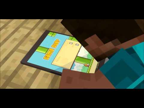 Flappy Bird ! - A Minecraft Animation