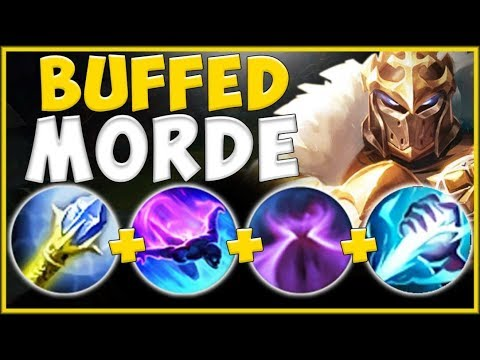 NO JUNGLER SHOULD EVER BE THIS STRONG! NEW BUFFED MORDE JG IS 100% OVERPOWERED! - League Of Legends