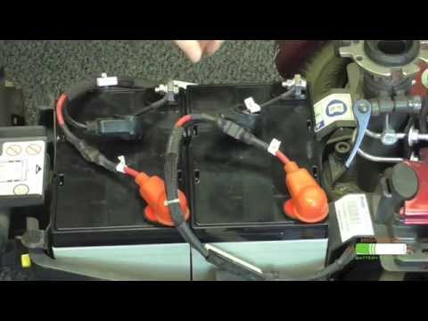 How-To Install Electric Wheelchair Batteries - YouTube on