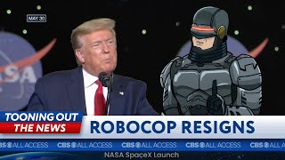 Trump's speech has RoboCop thinking about a career change
