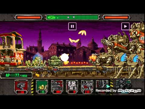 METAL SLUG DEFENCE MAP 2 FRANCE STAGE 5