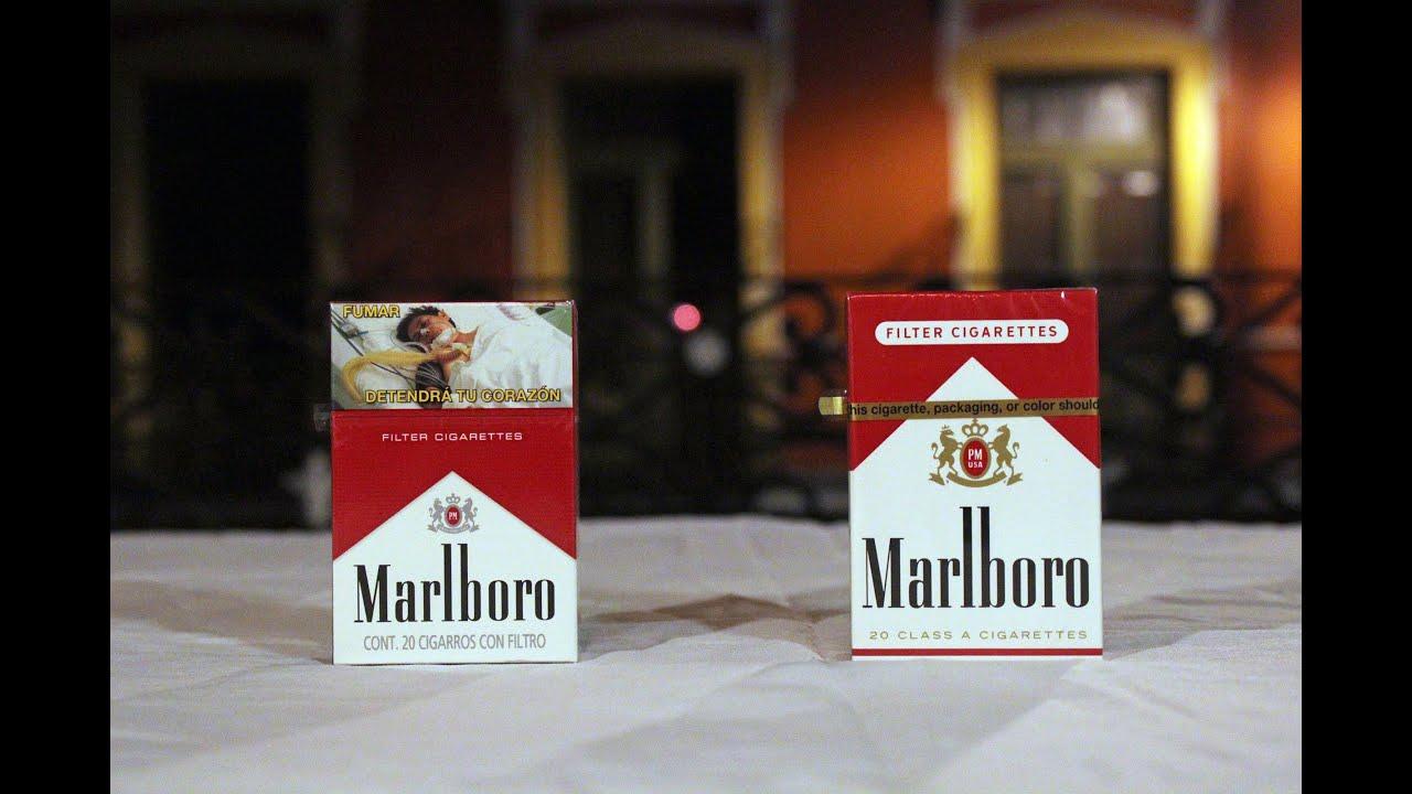Comparando Cigarrillos De Puebla Y Manhattan