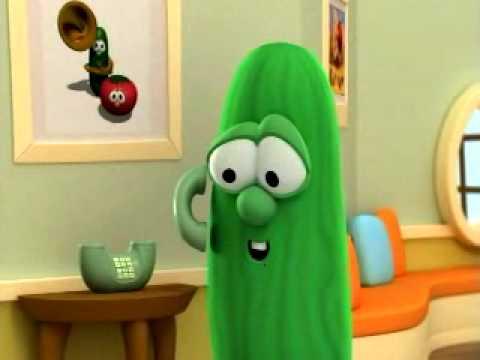 Veggie Tales Clip- Bob's Vacation