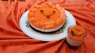 CheeseCake al Melone *NoForno* -Cremosissima-