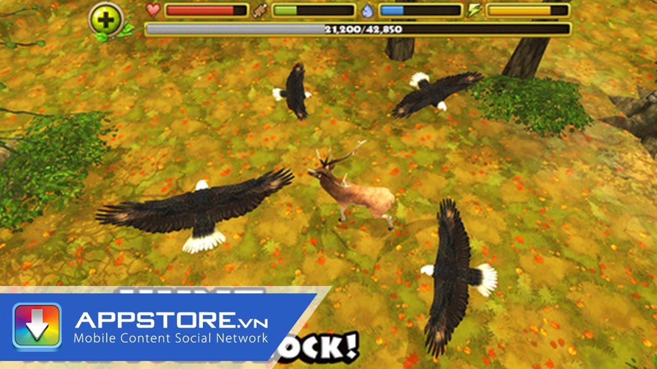 [iOS Game] Wild Eagle Flight Simulator 3D – Trải nghiệm làm đại bàng – AppStoreVn
