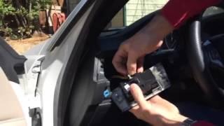 bmw headlight switch removal