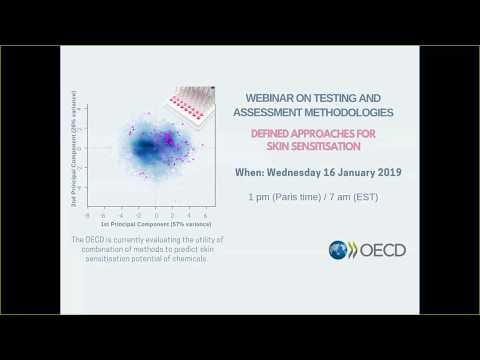 OECD Webinar | Testing And Assessment Methodologies: Defined Approaches For Skin Sensitisation