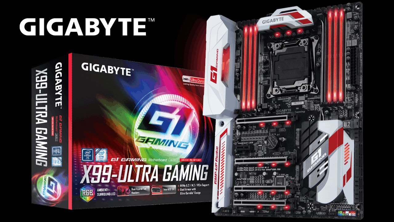 GIGABYTE X99 Series - X99-Ultra Gaming Motherboard Unboxing & Overview