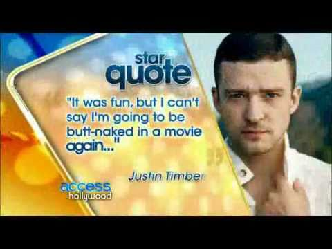 Justin Timberlake about Britney Spears and Jessica Biel