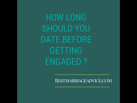 How long in a relationship before getting engaged