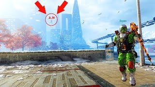 WORLDS MOST INSANE HIDING SPOT ON TOP OF THE MAP!?!? HIDE N