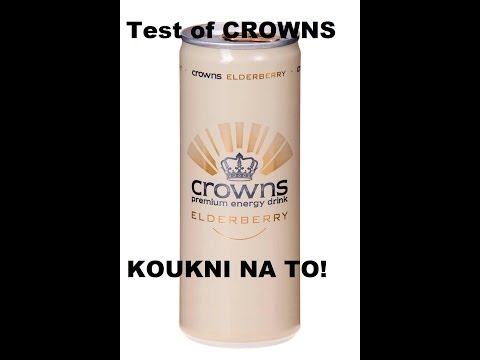 Crowns - Czech energy drink TEST