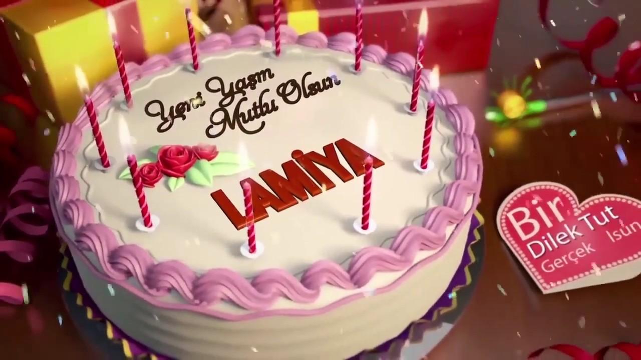 İyi ki doğdun LAMİYA - İsme Özel Doğum Günü Şarkısı