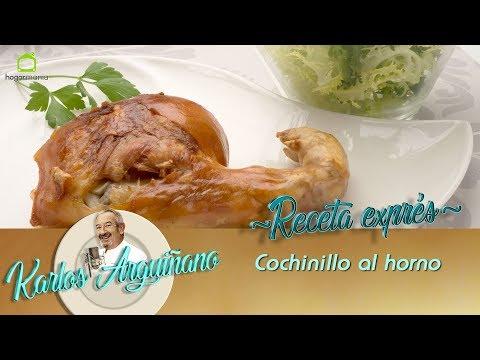Receta de Cochinillo al horno por Karlos Arguiñano